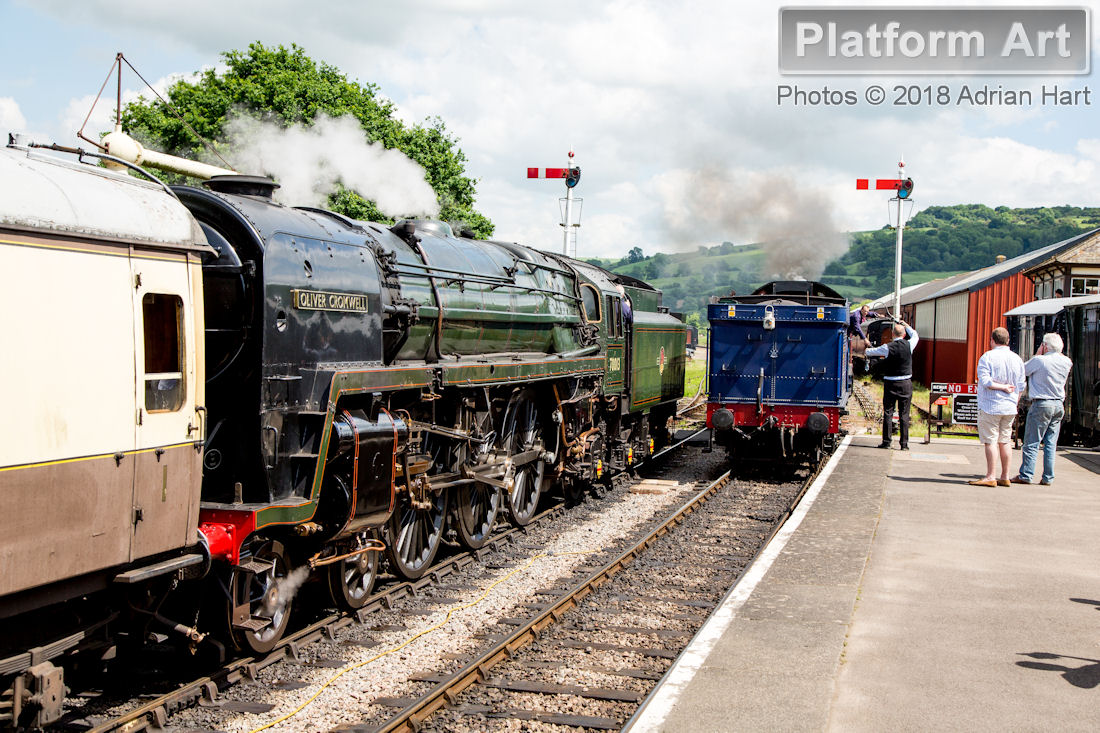Platform Art - Rail Photography by Adrian Hart | Steam